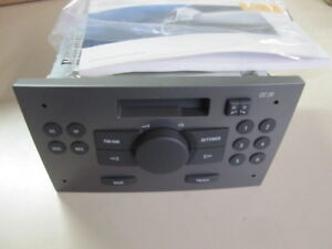 original gm opel cc20 autoradio radio astra h zafira b vectra c signum 13203275 ebay. Black Bedroom Furniture Sets. Home Design Ideas