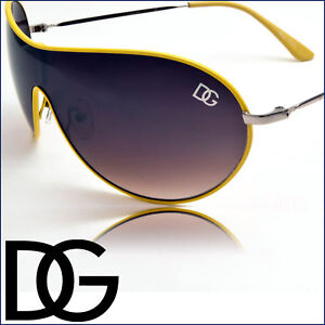 Yellow-Mens-DG-Sunglasses-Designer-Neo-Aviator-Sunnies