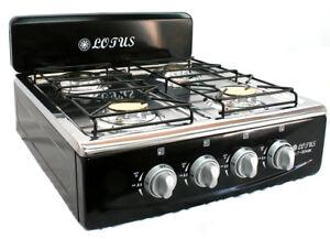 4-Burner-Gas-Stove-Range-Propane-Kitchen-Patio-Cooktop-XL-Black