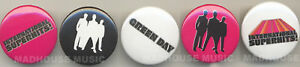 GREEN DAY: Superhits UK PROMO 5x PIN BADGES Pack WEA