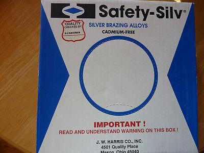 Silver Solder 45% 1/32 90 Harris Cad Free Silver Color