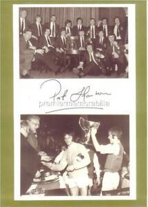 HIBERNIAN FC 1972 LEAGUE CUP PAT STANTON SIGNED HIBEES