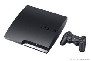 Sony-PlayStation-3-Slim-Latest-Model-160-GB-Charcoal-Black-Console