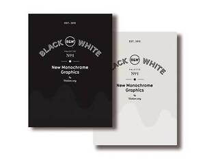 Palette  01: Black & White  BOOK NEW