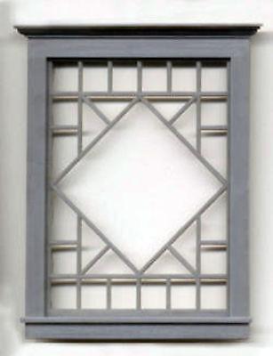 Diamond Pattern Window Doll House 1/2 F Scale Train Detail Gl3919