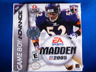 Nintendo Game Boy Advanced Gba Madden 2005