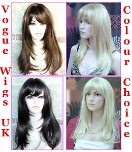 Ladies-Long-Fashion-Wigs-Page-Style-Blonde-Brown-Black-Red-Wigs-Vogue-Wigs-UK