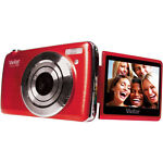 Vivitar iTwist F536 14.0 MP Digital Camera - Strawberry