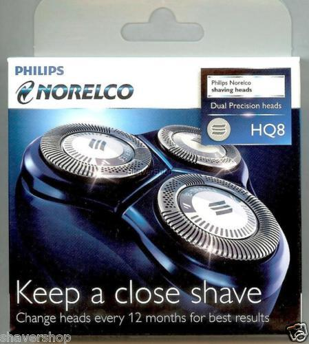 PHILIPS NORELCO HQ8 SPECTRA/SENSOTEC Shaver HQ 8 HEADS