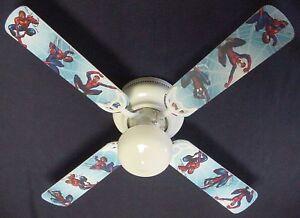 Spiderman Ceiling Fan Ebay