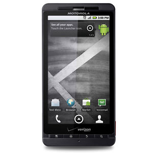 New Verizon Motorola Droid X MB810 PagePlus Android Touch No Contract SmartPhone