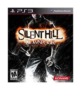 NEW-PS3-Silent-Hill-Downpour-Sony-Playstation-3-VIDEO-GAME-SEALED-FREE-SHIPPING