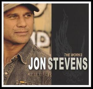 JON STEVENS - THE WORKS CD ( NOISEWORKS / JESUS CHRIST SUPERSTAR ) OZ ROCK *NEW*