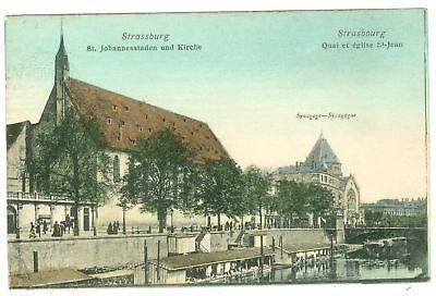 Strassburg / Elsass, Teilansicht mit Synagoge, 1904