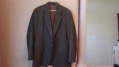 Mens Brooks Brothers Green Sport Jacket -42l