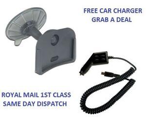 Car-Mount-Holder-For-TomTom-ONE-V2-V3-Free-Car-Charger