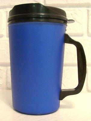 34 Oz Blue Thermo Serv Insulated Travel Mug