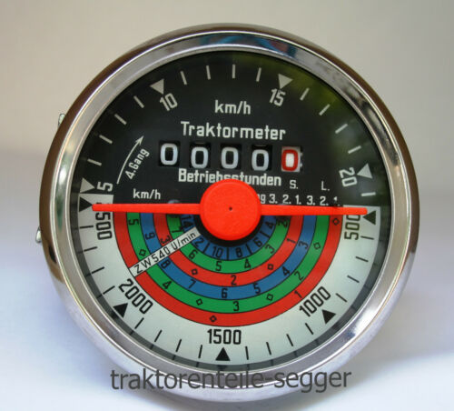 Traktormeter für Deutz D40 D 40  Schlepper Traktor Trecker 507 Foto 1