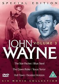 The John Wayne Collection Vol.3 (DVD, 2004, 3-Disc Set)
