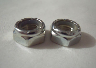 NEW SET 2 REPLACEMENT TRUCK KINGPIN NUTS FOR SKATEBOARD