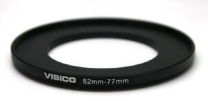 Visico-52mm-to-77mm-52-77-Step-Up-Adapter-Ring-NEW