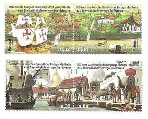 Portugal 2011 - Joint Issue with Thailand set MNH