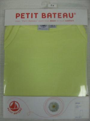 PETIT BATEAU Girls Yellow Tank Dress 73285 Sz 2 NEW $37