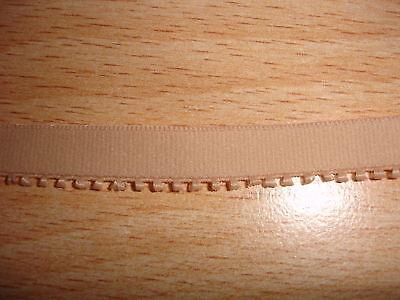 Gummiband 0,28€/m Trägerband beige 10 Meter MN20