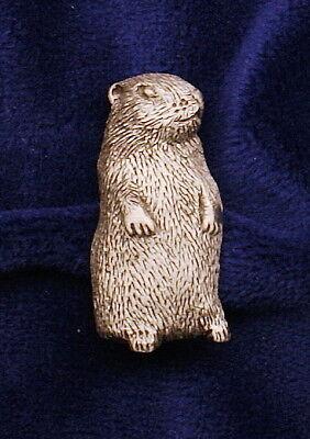 Empire Pewter Woodchuck / Groundhog Pewter Pin