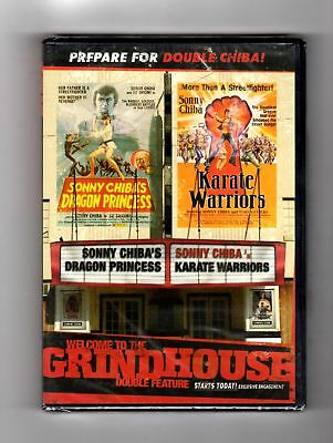 Welcome To Grindhouse - Dragon Princess / Karate Warriors (dvd) Sonny Chiba,