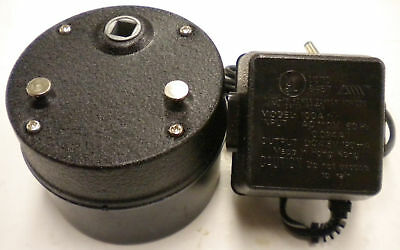 SUN BEAM ROTISSERIE MOTOR, FOR BBQ GRILL, 3 RPM, 110 VOLTS, WIL POWER SUPPLY