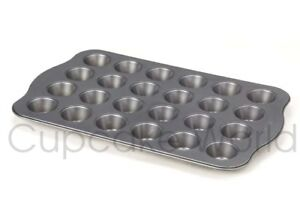 24 CUP HOLE CUPCAKE FOR BAKING MUFFIN TRAY PAN TIN NON-STICK MINI