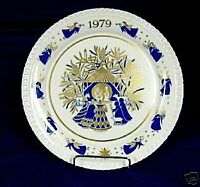 SPODE Christmas Plates CAROLS 1970 to 1981