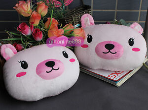 2pcs-pink-Pig-face-Car-Seat-Neck-Rest-Cushion-Pillow-P