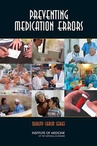 Preventing Medication Errors:  BOOK NEW