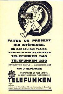 radio telefunken belgien weihnachten nikolaus reklame 1931. Black Bedroom Furniture Sets. Home Design Ideas