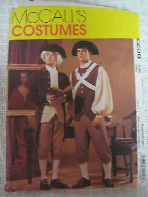 Revolutionary Costume Sewing Pattern Larp George Wash