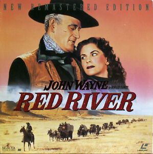 RED-RIVER-John-Wayne-Montgomery-Clift-Joanne-Dru-Laserdisc-LD-NTSC