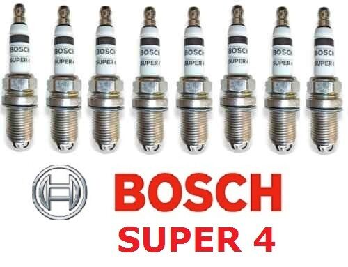 LEXUS LS400 32V 1994-2000  8 x BOSCH SUPER 4 SUPER4 SPARK PLUGS SET NEW
