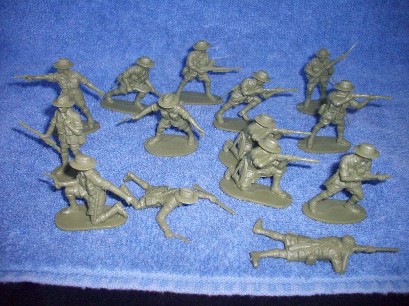 Airfix Wwii Gurkhas Allied Infantry 14 Figures 1/32