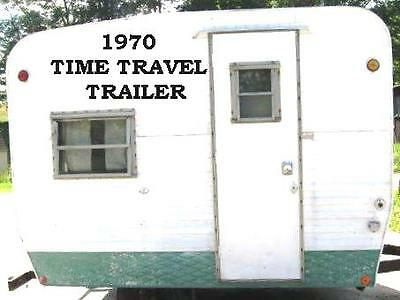 1970 Time Travel Trailer