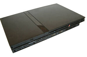 Sony PlayStation 2 Slim Charcoal Black C...