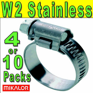 Mikalor-W2-430-Stainless-Steel-Worm-Drive-Hose-Pipe-Clips-Tubing-Clamps-UK