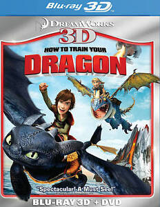 How to Train Your Dragon 3D [2 Discs] [3D] Blu-ray 3D & DVD