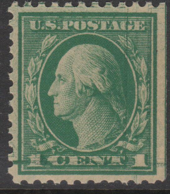 #498d 1¢ Xf Double Impression Pos. 80 Cv $250 Bl5750