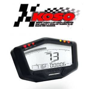 compteur koso db 02r lcd moto quad scooter compte tours. Black Bedroom Furniture Sets. Home Design Ideas