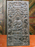 Antique Door Panel Gautama Buddha Wall Panel Door India