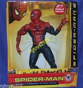 SPIDERMAN-2-Spiderman-12-New-27-Points-of-Articulation