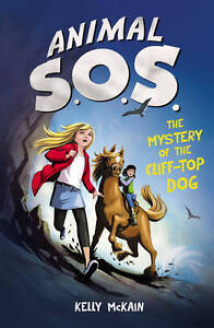 The Mystery of the Cliff-top Dog, McKain, Kelly, New Book