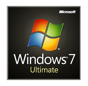 Microsoft Windows 7 Ultimate 64 bit SP1 Full Version